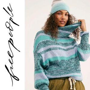 NWT free people waterfall woman's cozy sweater